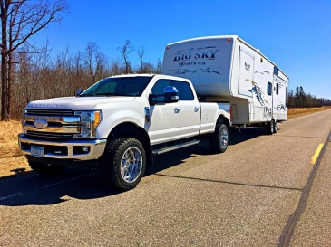 """2017-2020 Ford F-250 & F-350 3"""" Premium Leveling System"""