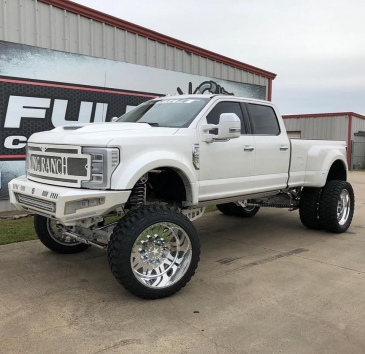 """2017-2019 Ford F-450 12"""" Suspension lift"""