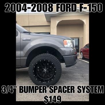 "04-08 Ford F-150 3/4"" Bumper Spacer Kit"