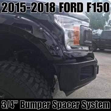 "15-20 Ford F-150 3/4"" Bumper Spacer Kit"