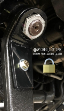 2005-2019 Ford F-250 F-350 Pitman Arm Lock & Pitman Arm